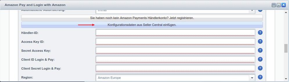 Dokumentation Amazon Pay für Shopware - Amazon Pay